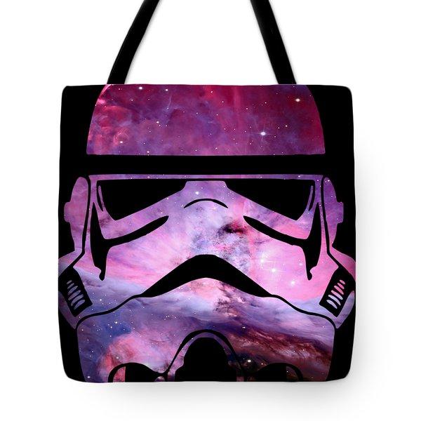 Storm Trooper Nebula Tote Bag