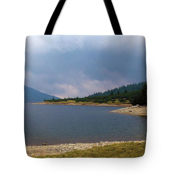 Tote Bag featuring the photograph Stormy by Milena Ilieva