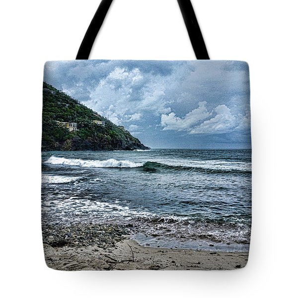Stormy Shores Tote Bag