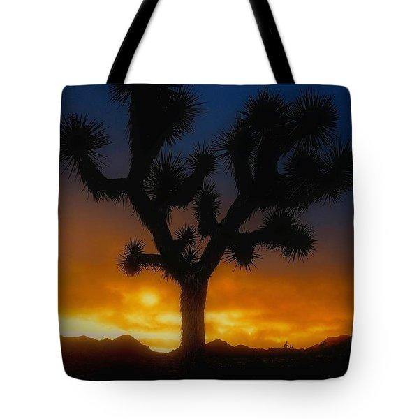 Stormy Sunrise Tote Bag