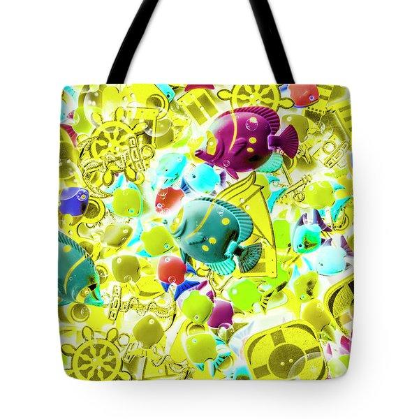 Story Seas Tote Bag