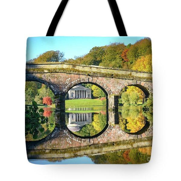 Stourhead Autumn Tote Bag