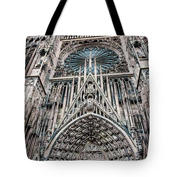 Strasbourg Cathedral Tote Bag