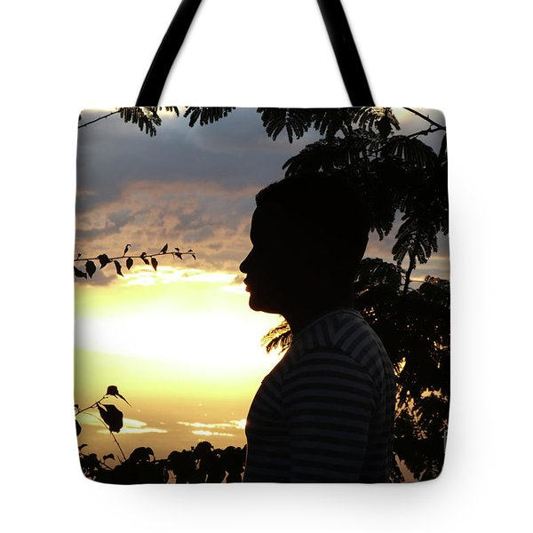 Into The Shadows  Tote Bag