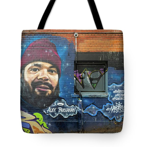 Tote Bag featuring the photograph Street Art by Ross G Strachan
