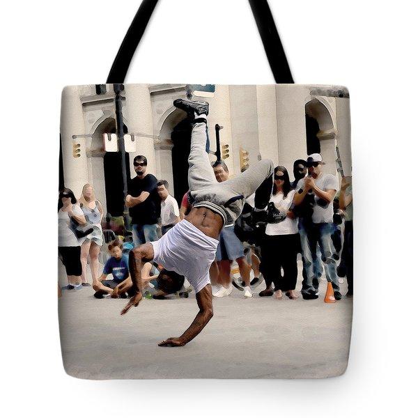 Street Dance. New York City. Tote Bag
