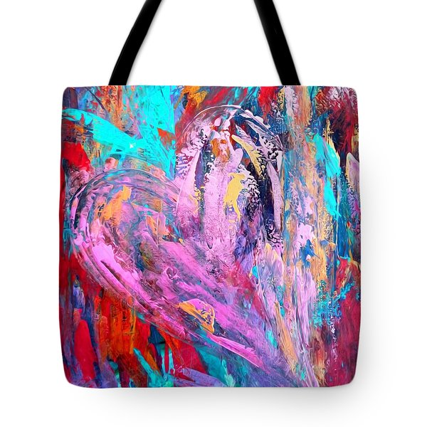 Strength Of My Heart Tote Bag