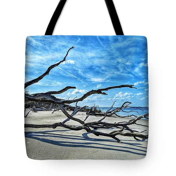 Stretch By The Sea Tote Bag