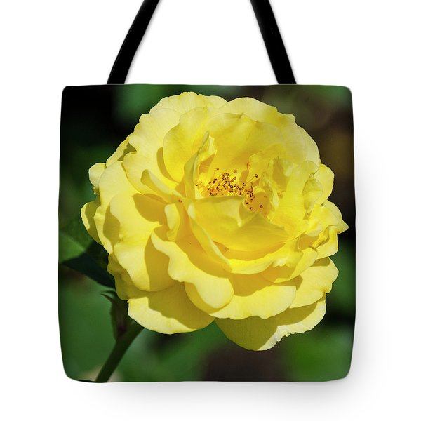 Striking In Yellow Tote Bag
