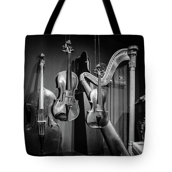 Stringed Instruments Tote Bag