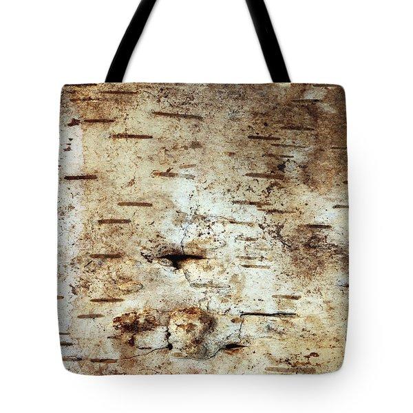 Strip Of Birch Bark Tote Bag
