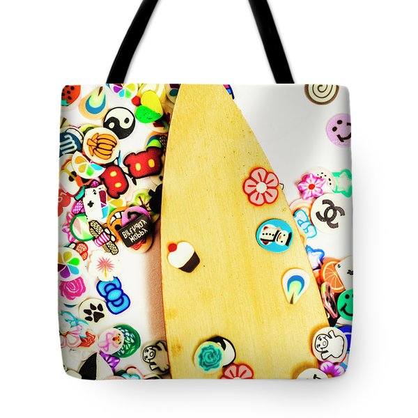 Stuck On Boarding Tote Bag