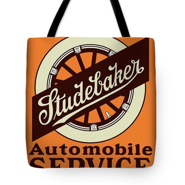 Studebaker Auto Sign Tote Bag