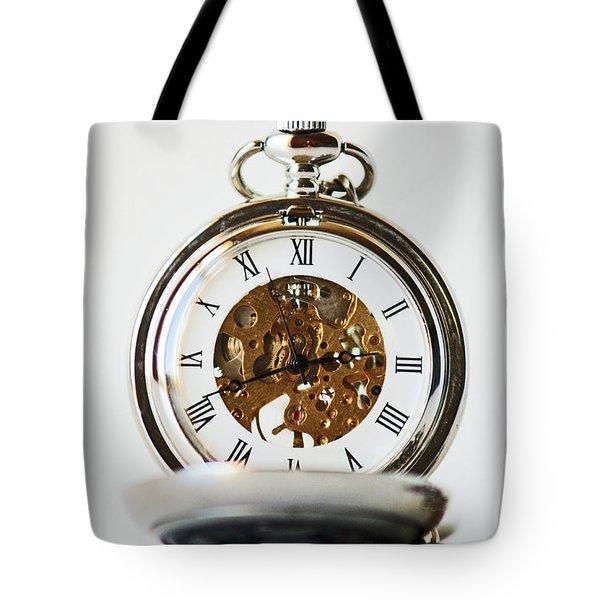 Studio. Pocketwatch. Tote Bag