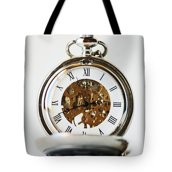 Studio. Pocketwatch. Tote Bag