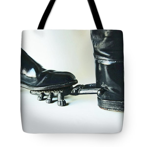 Studio. Boots And Boot Pull. Tote Bag