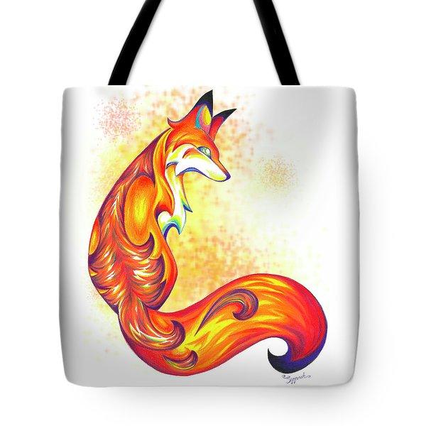Stylized Fox I Tote Bag