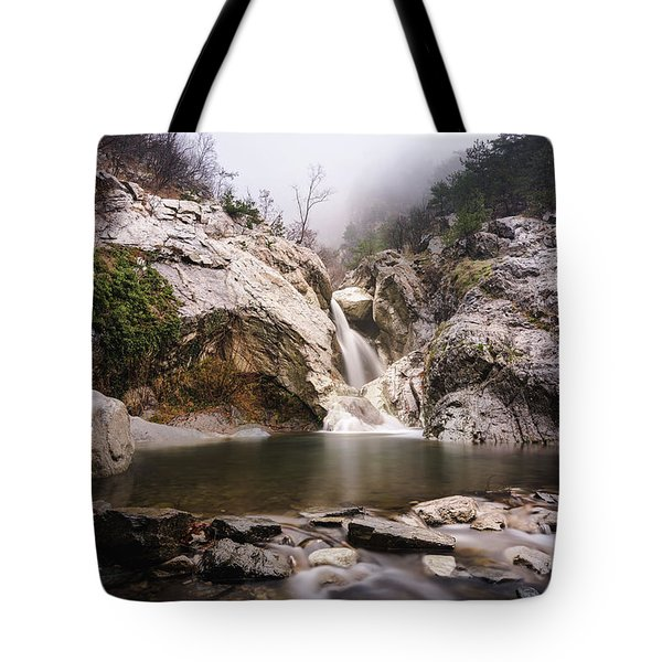 Suchurum Waterfall, Karlovo, Bulgaria Tote Bag
