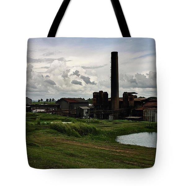 Sugar Factory I, Usine Ste. Madeleine Tote Bag