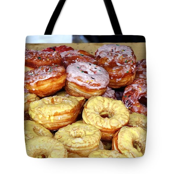 Sugar Frosted Donuts On Sale Tote Bag