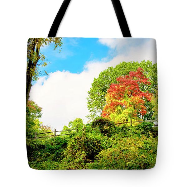 Sugar Maple Stands Out In Early Fall Tote Bag