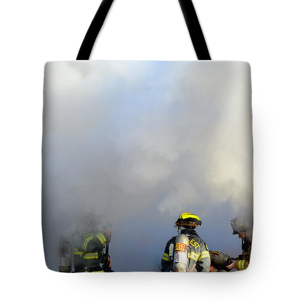 Suit Up Tote Bag