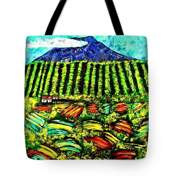 Sumatra Coffee Plantation Tote Bag