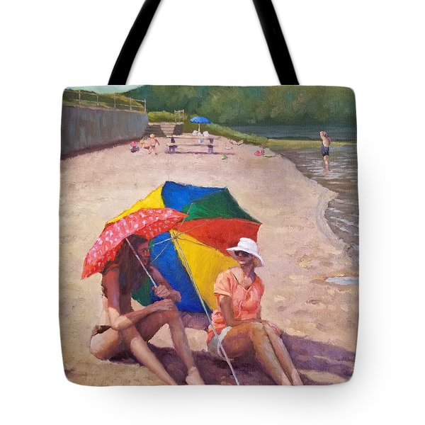 Summer At Jersey Valley Tote Bag