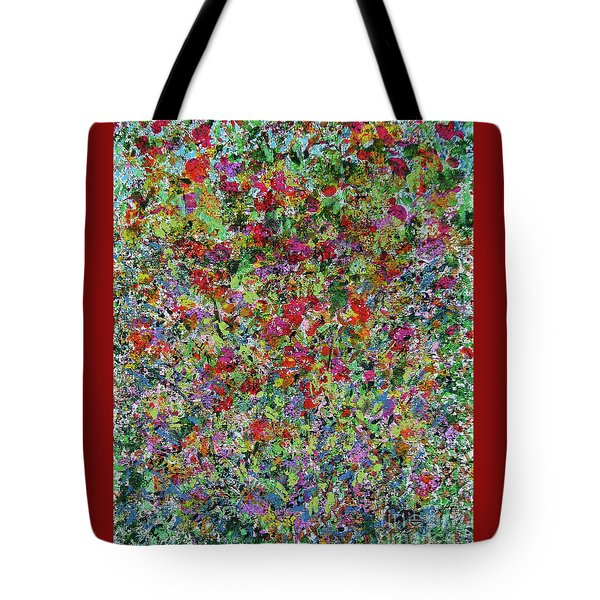 Tote Bag featuring the painting Summer by Corinne Carroll