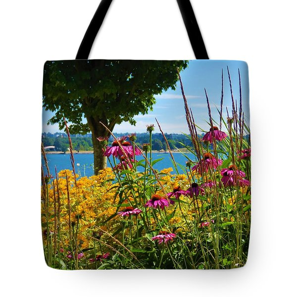 Summer Flowers Vancouver 1 Tote Bag
