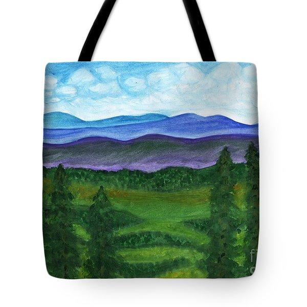 Summer Forest Tote Bag