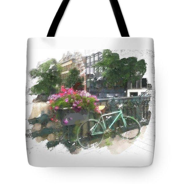 Summer In Amsterdam Tote Bag