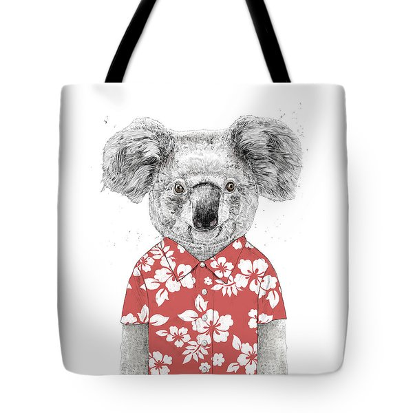 Summer Koala Tote Bag