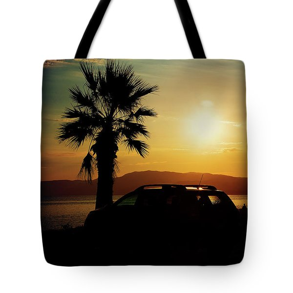 Tote Bag featuring the photograph Summer Life by Milena Ilieva