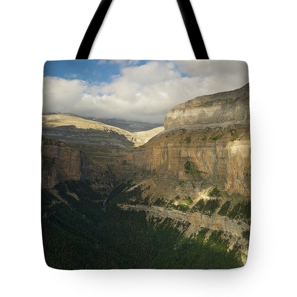 Tote Bag featuring the photograph Summer Magic In The Ordesa Valley by Stephen Taylor