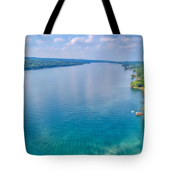Summer On Keuka Lake Tote Bag