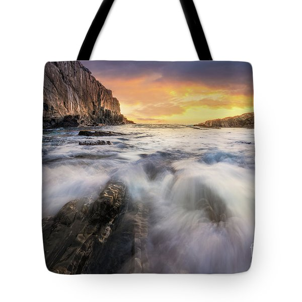 Summer Sunrise At Bald Head Cliff Tote Bag