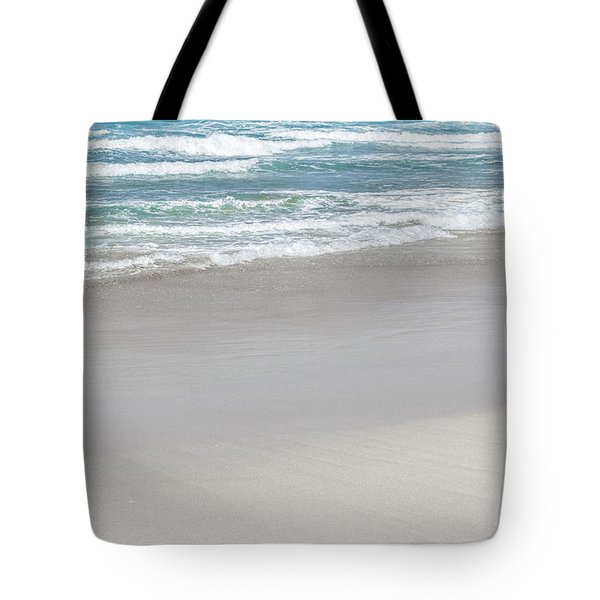 Tote Bag featuring the photograph Summer Wave Iv by Anne Leven