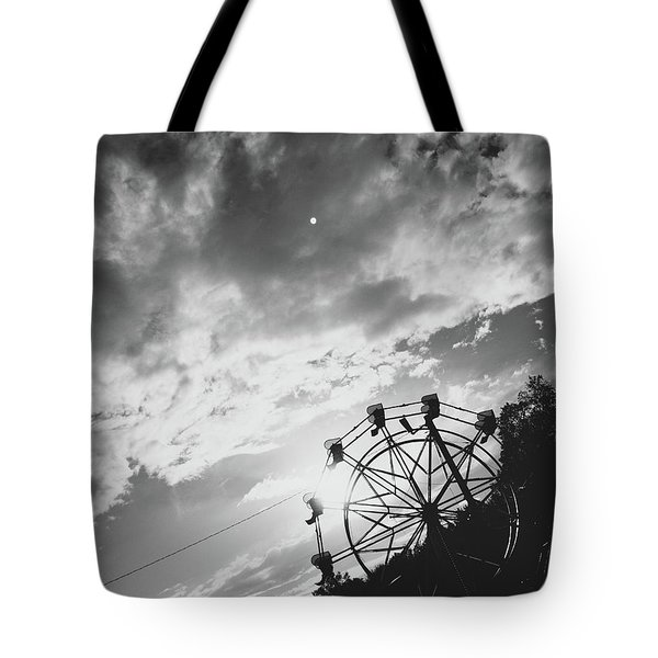 Summertime Wheeling Tote Bag