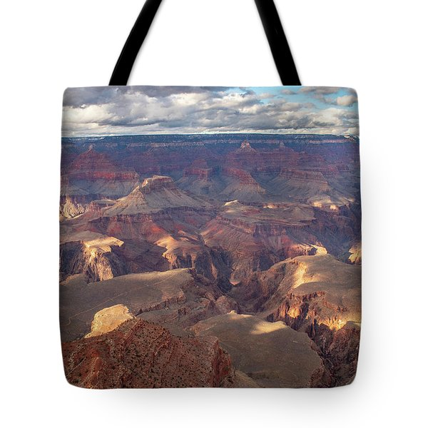 Tote Bag featuring the photograph Sun Dappled Canyon  by Matthew Irvin