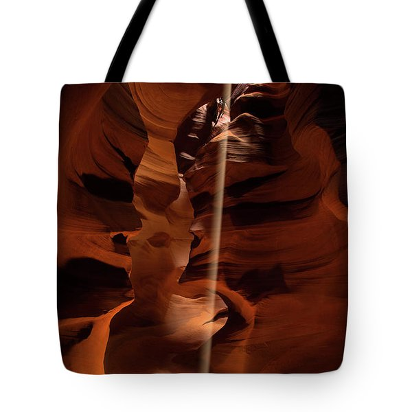 Sunbeam In Upper Antelope Canyon Tote Bag