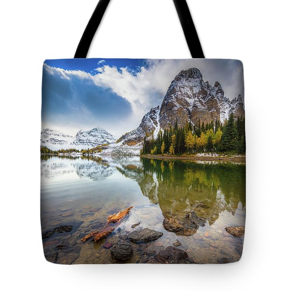 Sunburst Peak Tote Bag