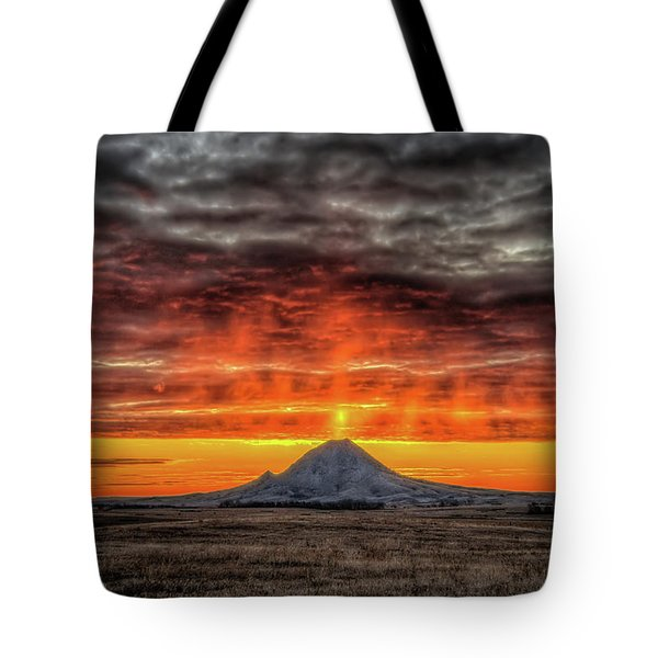Sunday Sunrise Nov. 11, 2018 Tote Bag
