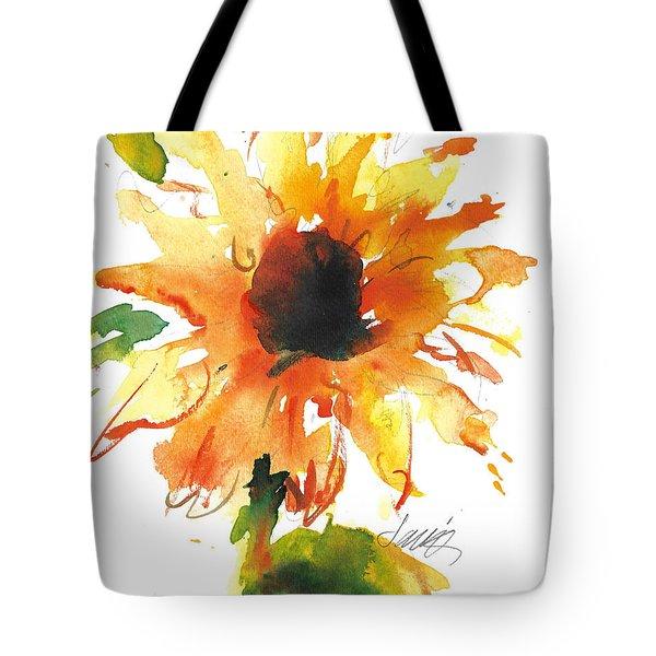 Sunflower Too - A Study Tote Bag