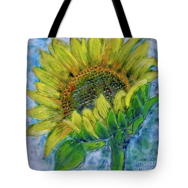 Sunflower Happiness Tote Bag