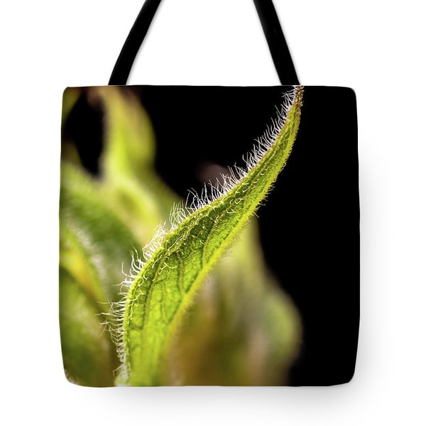Sunflower Leaf Tote Bag