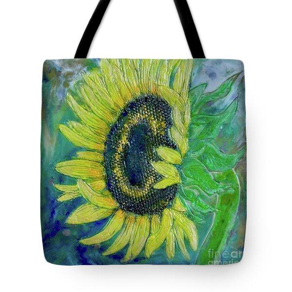 Sunflower Smiles Tote Bag