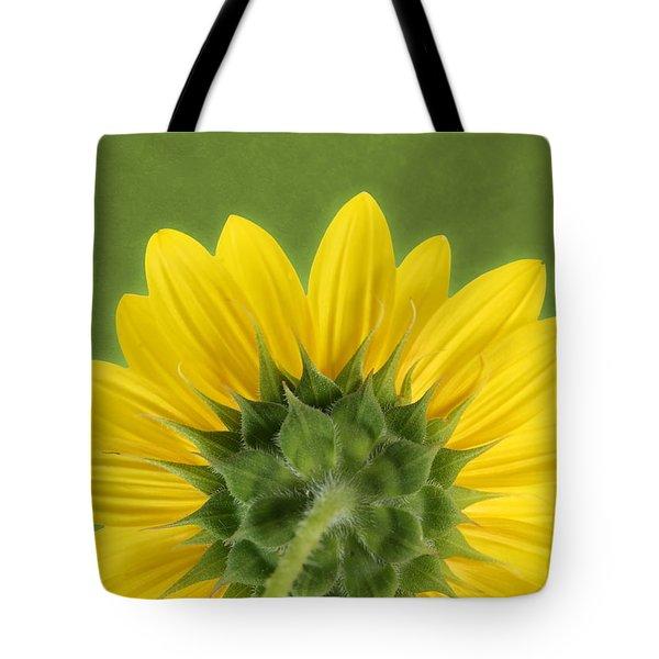 Sunflower Sunrise - Botanical Art Tote Bag