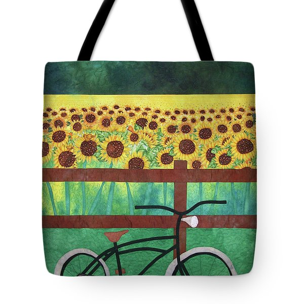 Sunflowers At Whitehall Farm Tote Bag