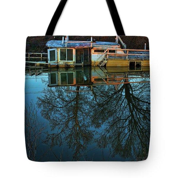 Sunken Tote Bag